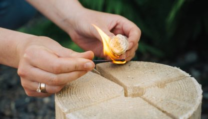 To wholesale a wood wool igniter