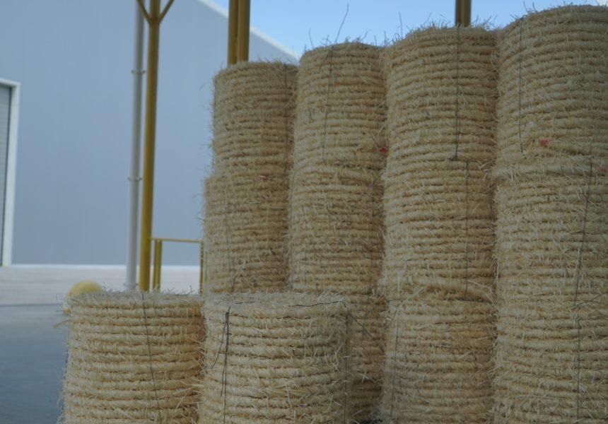 Веревка с древесной шерсти