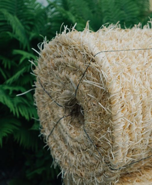 Древесная шерсть веревка