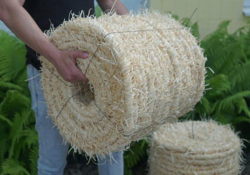 Мотузка з деревної вовни Веселі бобри